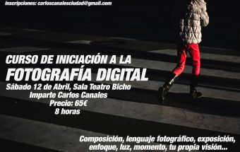 Curso Iniciación a la Fotografía en Zaragoza